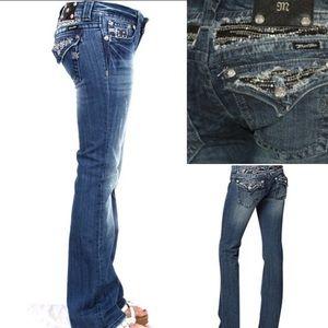 Miss me jeans boot cut Sequin detail